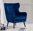Adrianna Accent Chair Blue