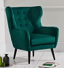 Adrianna Accent Chair Green