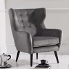 Adrianna Accent Chair Grey