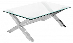 Crossly Glass Coffee Table