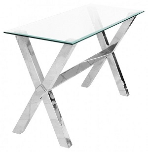 Crossly Glass Hall Table