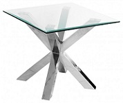 Crossley Glass Lamp Table