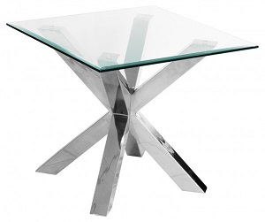 MCrossly Glass Lamp Table