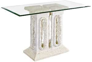 Tower Macton Stone Console Table