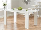 Metz White High Gloss Dining Table