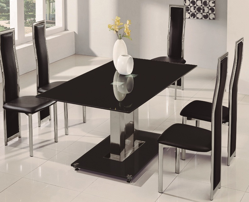 Glass Dining Table 4 Chairs Glass Dining Tables And Dining Chairs