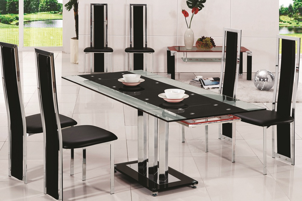 Fabulous Glass Dining Table Sets 6 Chairs 1000 x 666 · 241 kB · jpeg