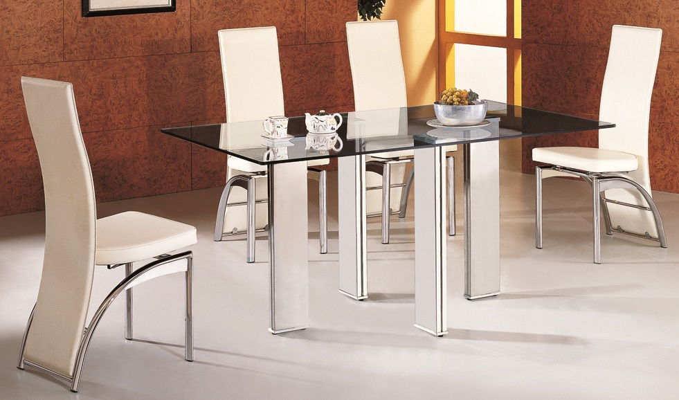matrix glass dining table 6 chairs glass dining tables and dining