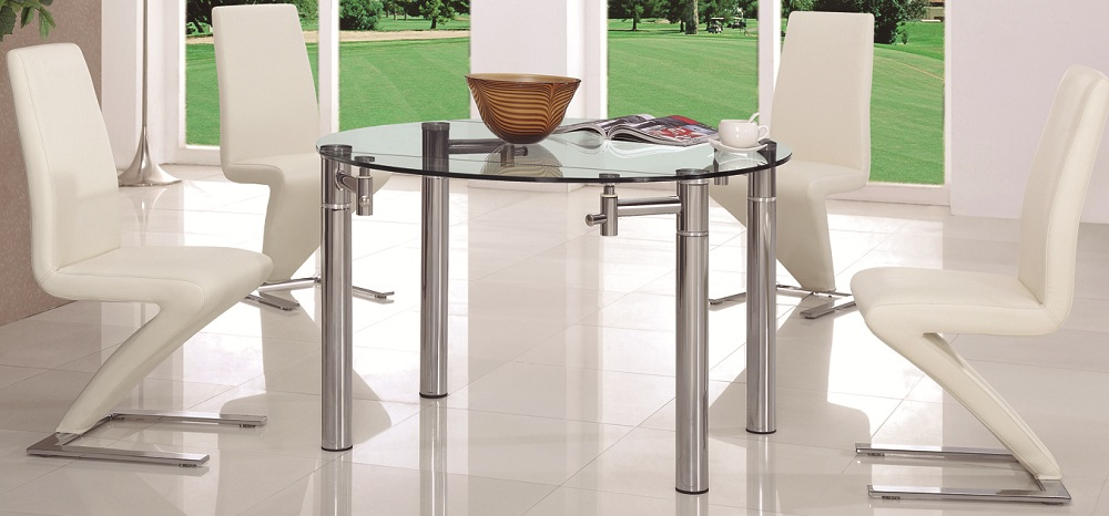 Magnificent Chairs for a Round Glass Dining Table 1000 x 466 · 156 kB · jpeg