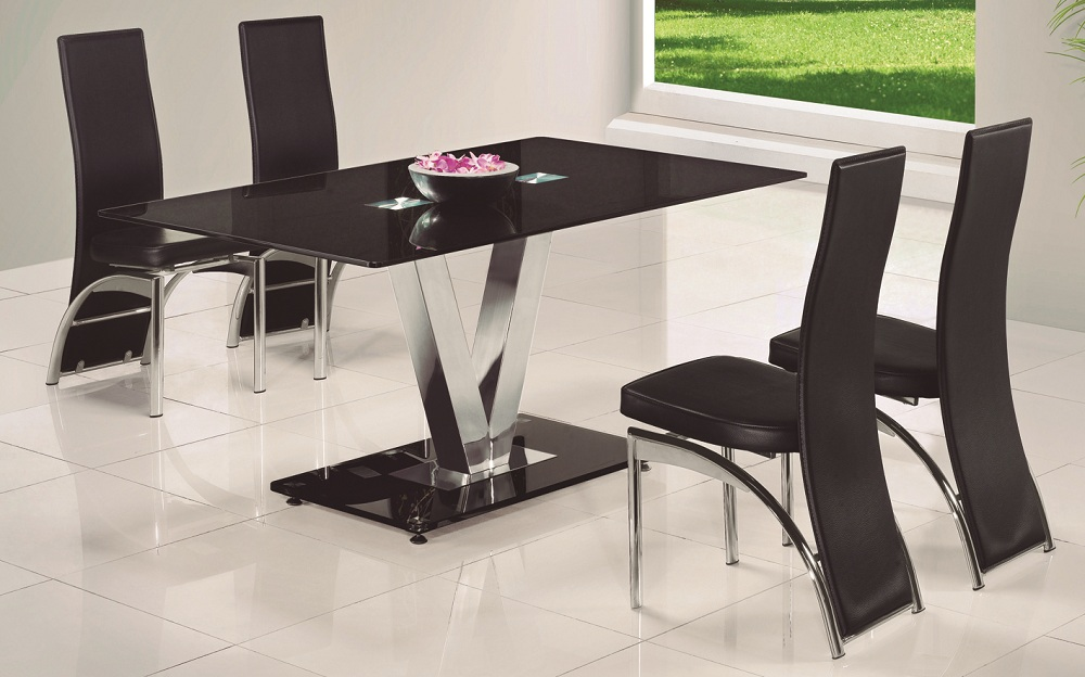 Livingstand Glass Dining Table By Tonelli Klarity Glass Furniture Specialists Glass Furniture