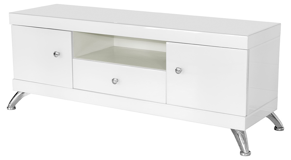 White Glass Low Tv Cabinet Glass Tv Cabinet
