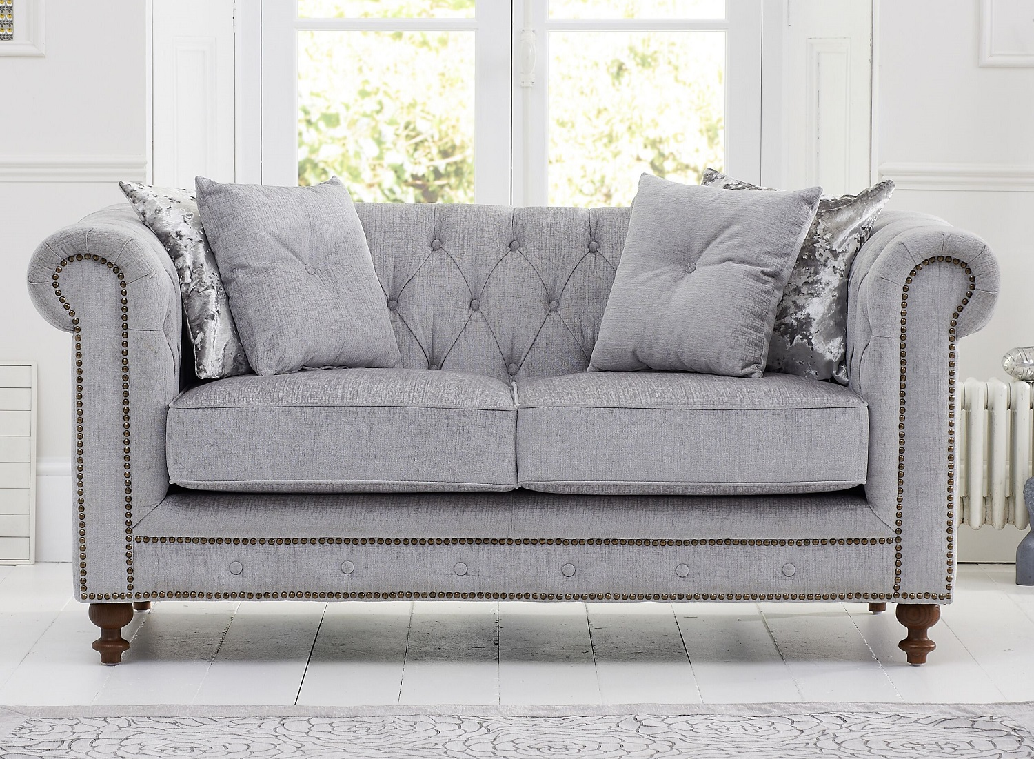 Sofas Montrose Fabric Chesterfield Sofa