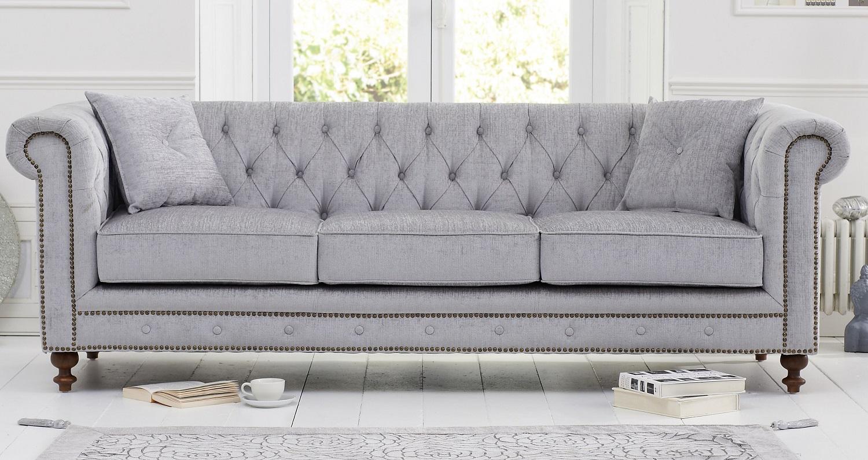 Sofas | Montrose Fabric Chesterfield Sofa ...