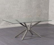 Renato Glass Dining Table