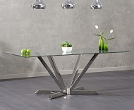 Rene Glass Dining Table