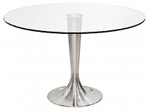Sandringham Round Glass Dining Table